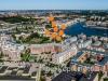Flygfoto av hammarby Sjöstad