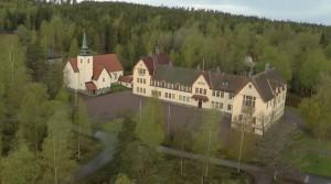 flygfoto av Lundsberg