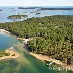 Vindalsö, Sandhamn, flygfoto