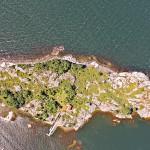 Norrpada Roslagen, foto från drönare