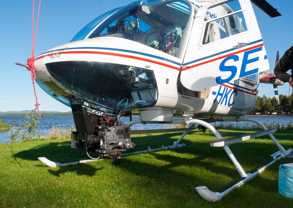kamera-helikopter