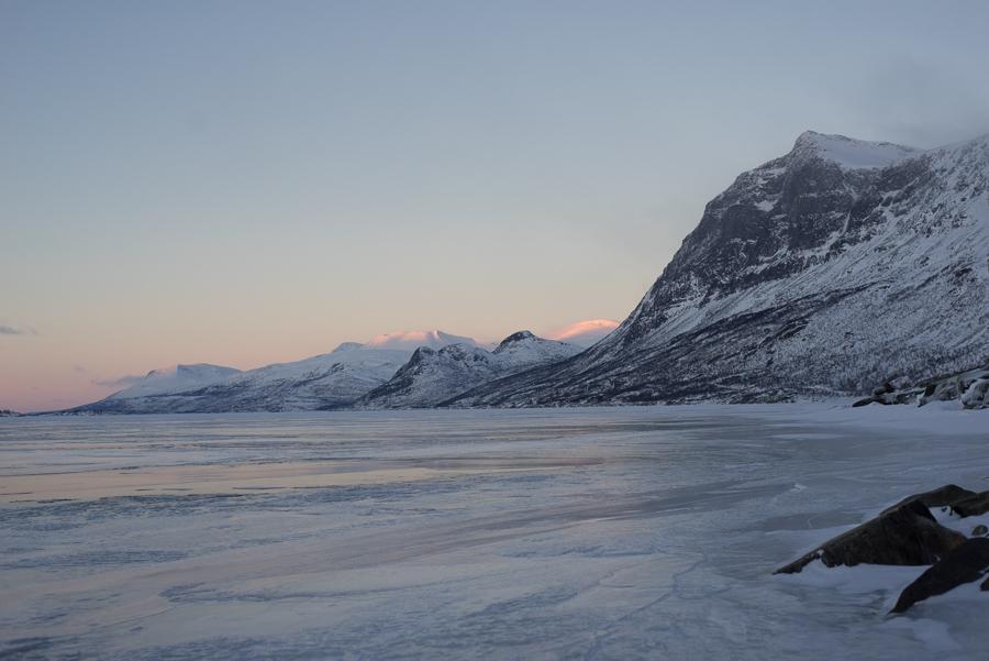 drönarfoto i Lappland