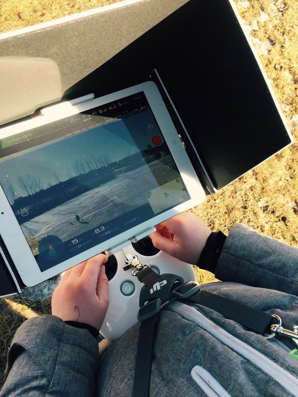 dronarkurs på Phanton 4 pro