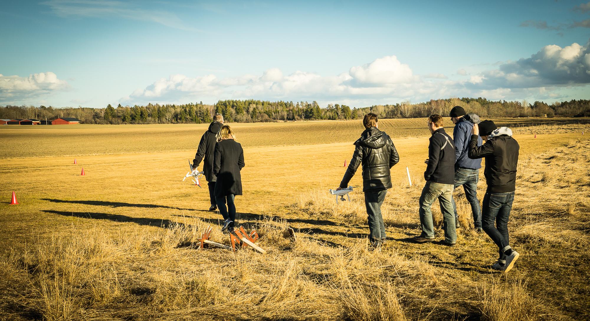 drönarutbildning för fotografer i Stockholm
