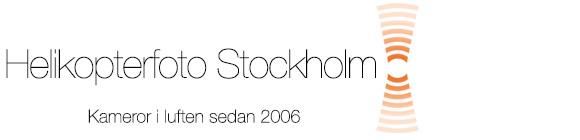 Helikopterfoto Stockholm, Sweden Logo