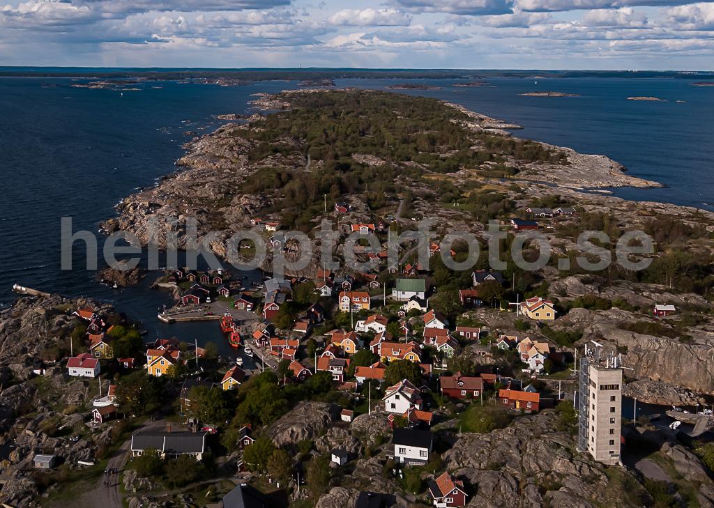 Drönarfoto Storhamn, Öja