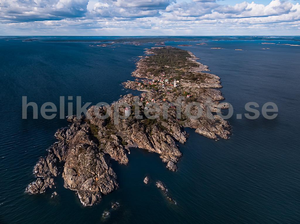Flygfoto av Landsort, Öja