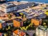 Flygbild av Öregrundsgatan i Stockholm
