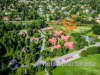 Flygfoto av Gärdesvägen i Täby