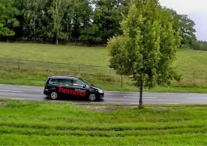 Helikopterfilming för Äntligen Hemma, TV4