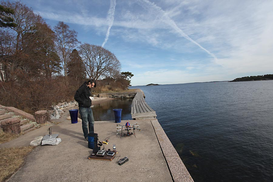 flygfoto Östersjön