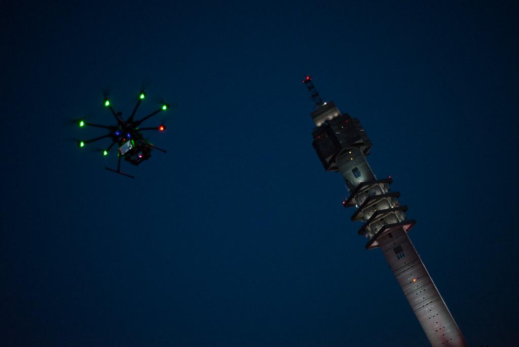 Flygfoto med DJI S1000