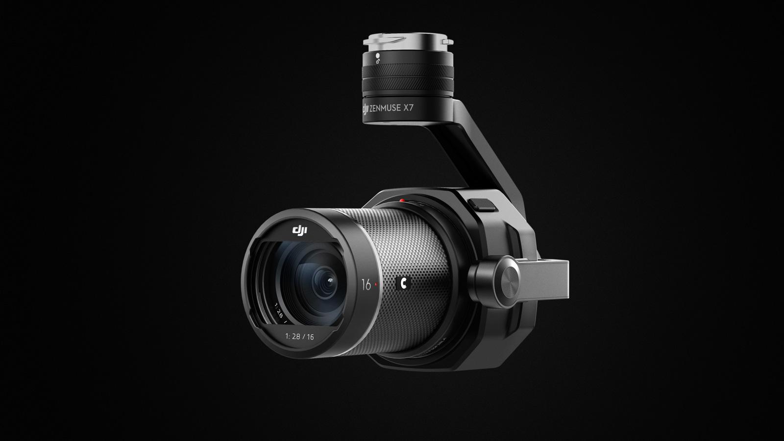 DJI Zenmuse X7 kamera för drönare
