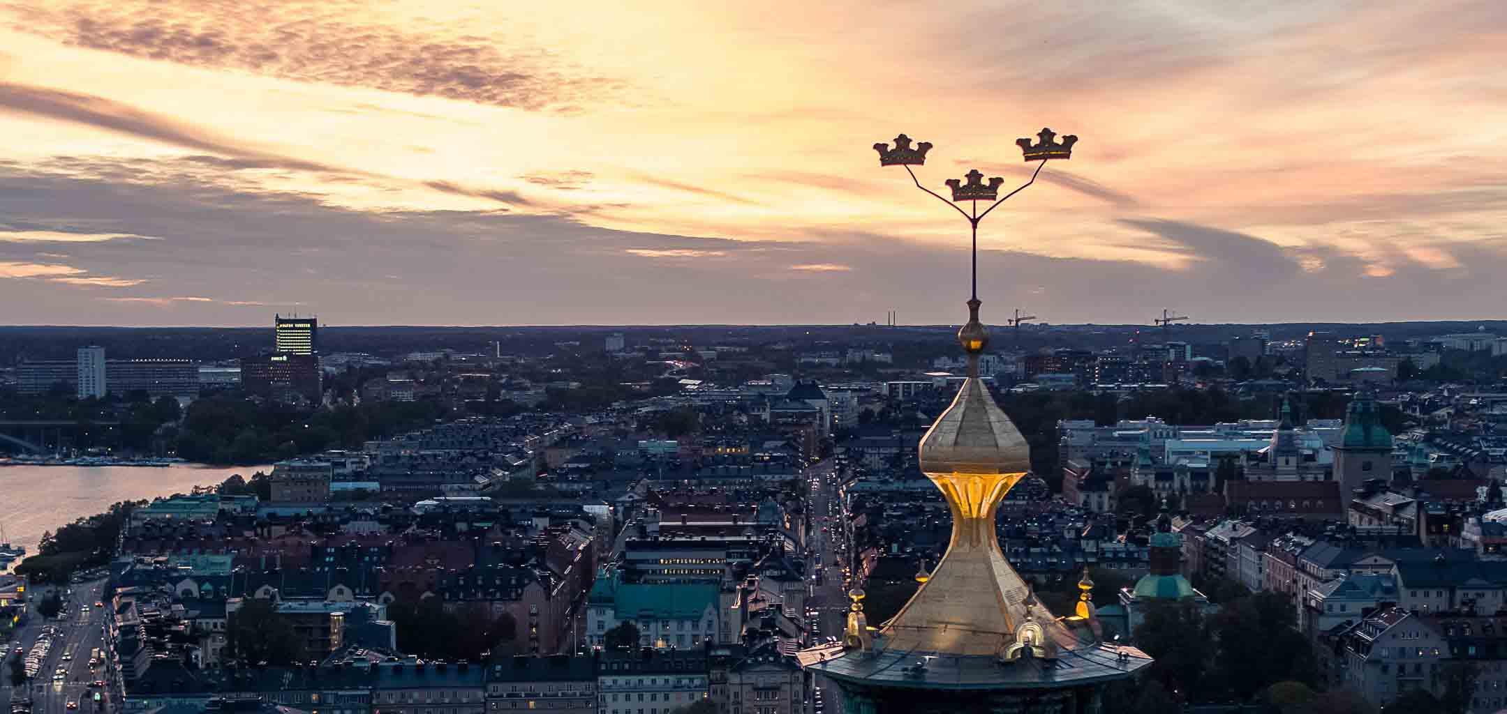 Drönarfotograf i Stockholm